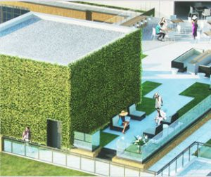 Our DC Apartments use the latest in Green Technology, such as our water-efficient landscaping and bio-retention system