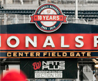 Insignia on M apartments are located within walking distance of Nationals Park