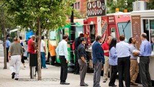 Local food trucks make grabbing a bite as easy as stepping up to the window.