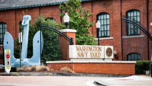The neighborhood's namesake, Washington Navy Yard, has been on the DC waterfront since 1799.