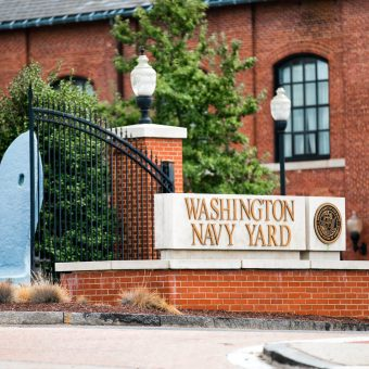 The neighborhood's namesake, Washington Navy Yard, has been on the DC waterfront since 1799.