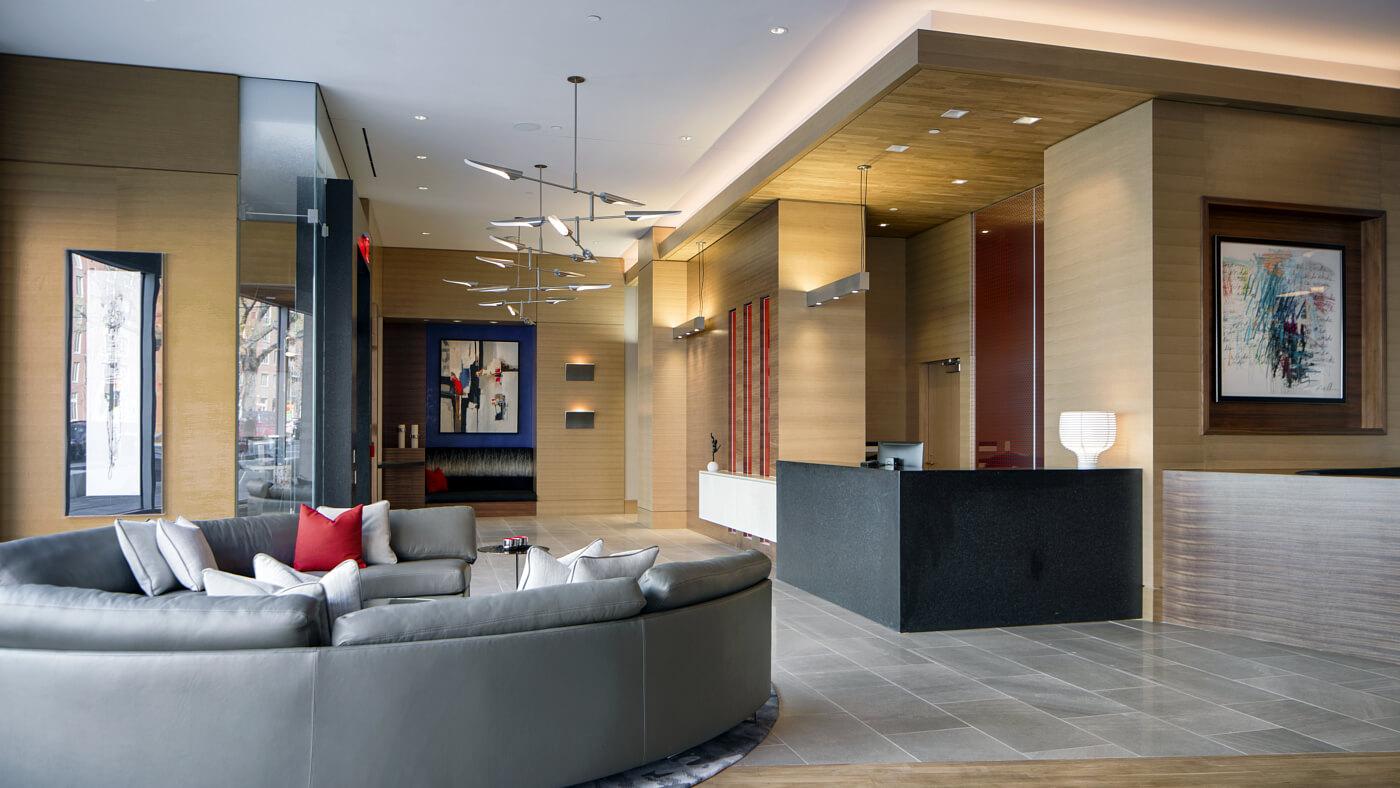 Exquisite services including a 24-hour concierge.