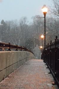 DC Navy Yard Winter