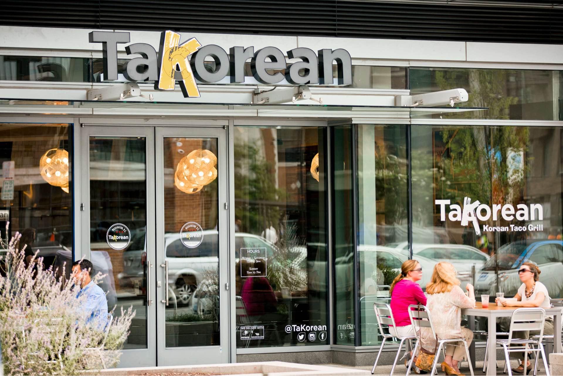 Walk to TakoRean, a DC dining hotspot.