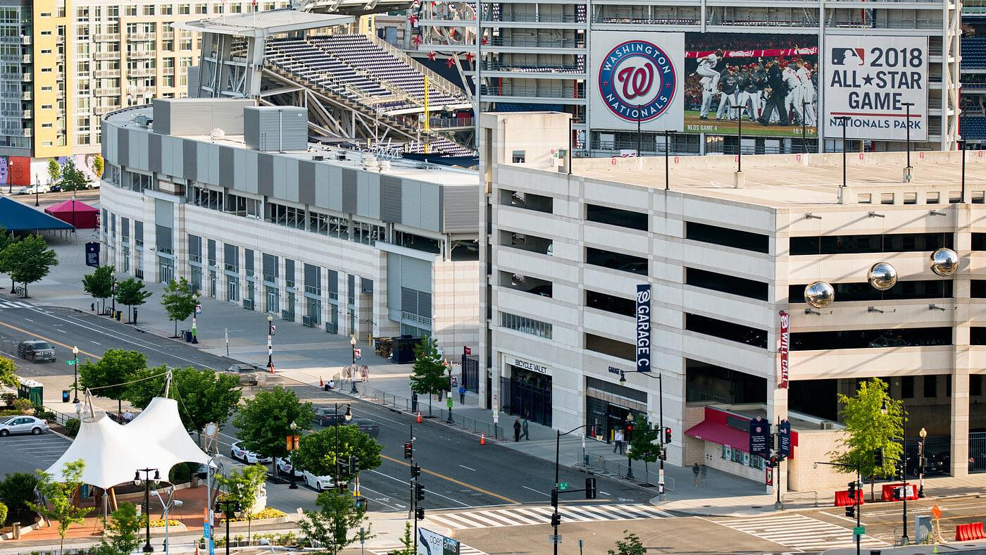 Make yourself at home in our vibrant neighborhood, right next to Nationals Park.